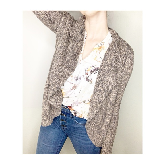 Cabi Swear by Sweater Open Front Knit Cardigan S